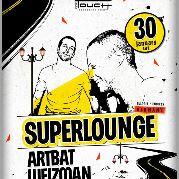 Superlounge: : TOUCH café, 30 января