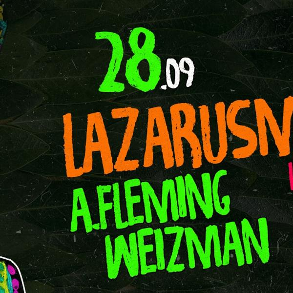 LAZARUSMAN (South Africa). 28 сентября, CHI by Decadence House, Киев