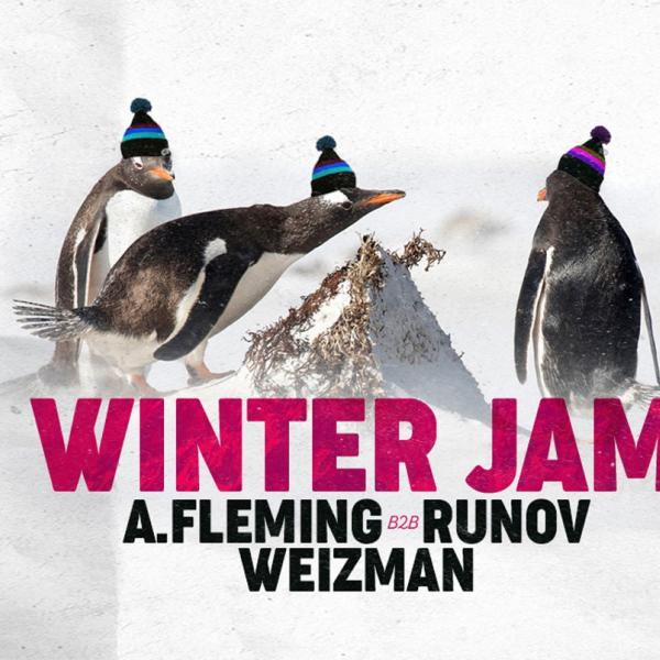Winter Jam. Weizman / A.Fleming / Runov. 18 января, CHI by Decadence House, Киев