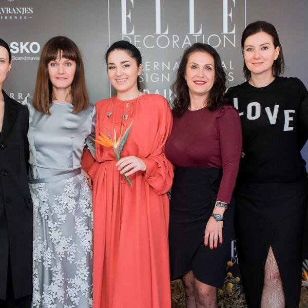 ELLE DECORATION INTERNATIONAL DESIGN AWARDS UKRAINE 2019