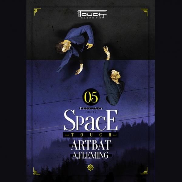 Space Touch: Artbat – A.Fleming: Touch café, 5 февраля