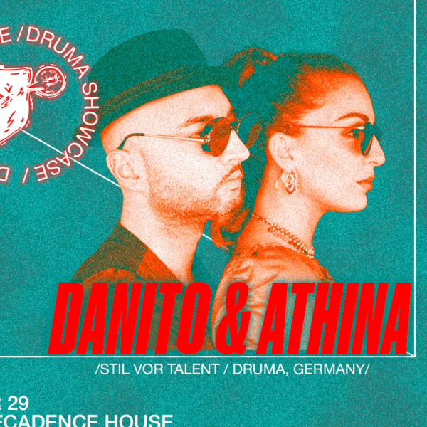 Danito & Athina (Germany). 29 ноября, CHI by Decadence House, Киев