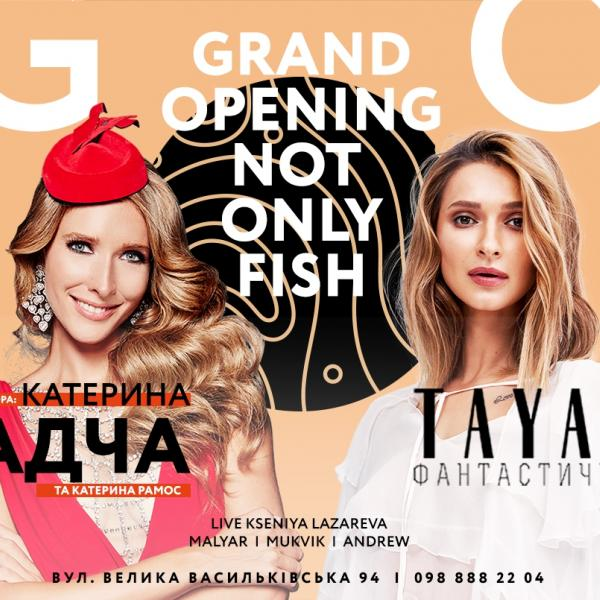 NOT ONLY FISH. Grand Opening. 31 января, ресторан NOT ONLY FISH, Киев