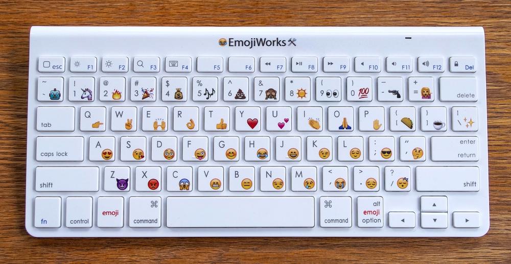 Keyboard смайлики и эмодзи