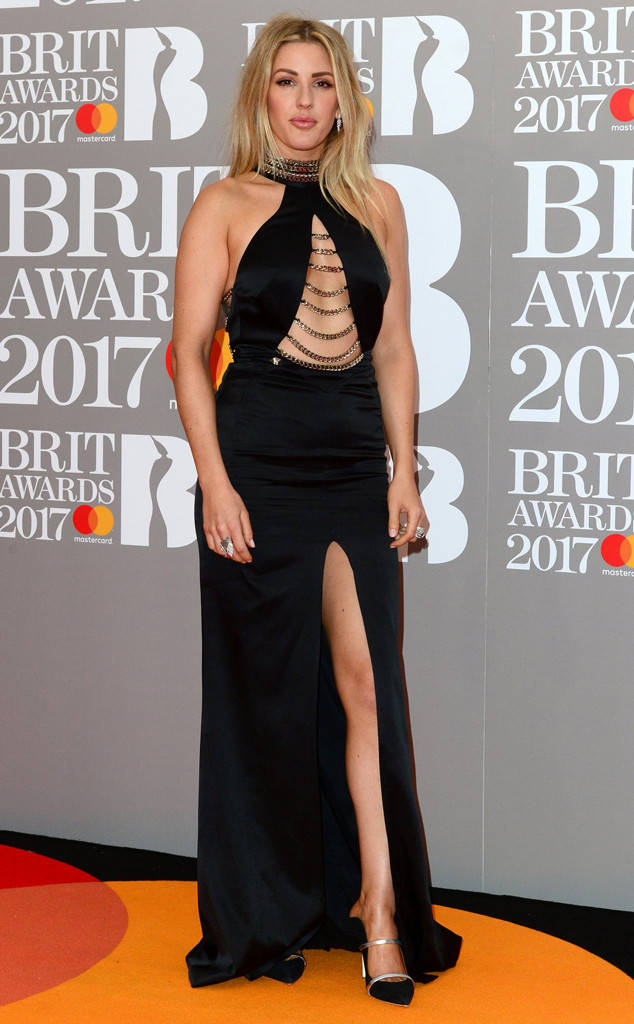 Элли Голдинг фото Brit Awards 2017