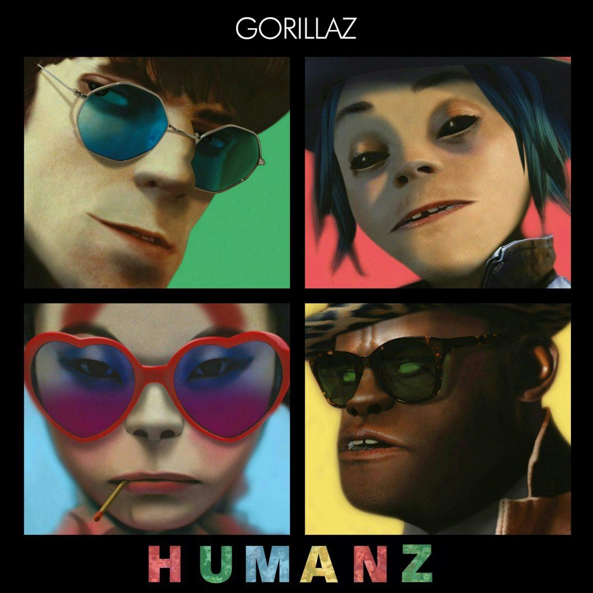 Группа Gorillaz выпустила новый альбом «Humanz»