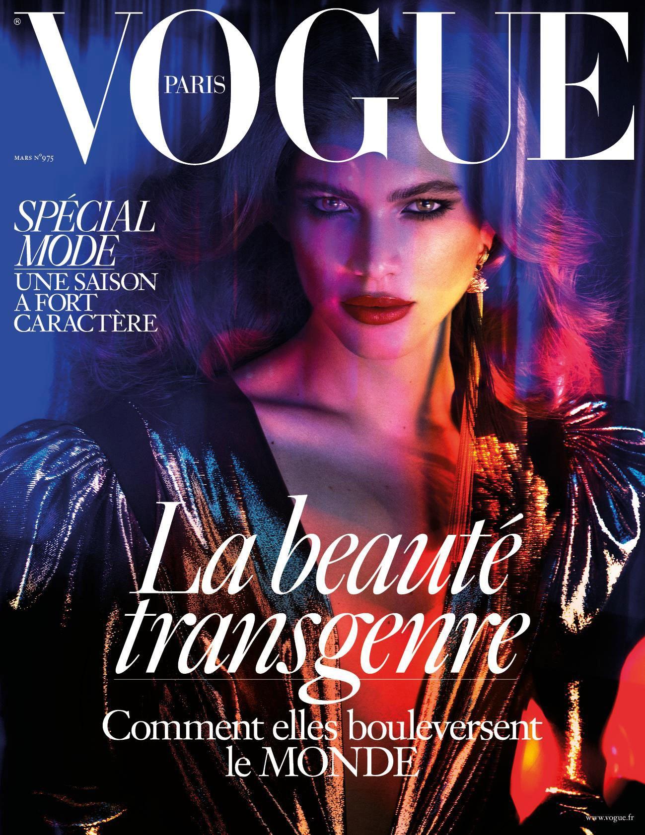 Журнал Vogue впервый раз выйдет странсгендером наобложке