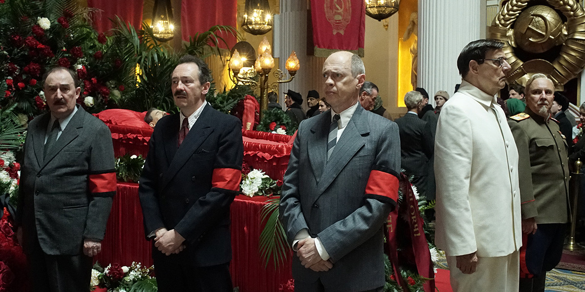 Появился 2-ой трейлер комедии осмерти Сталина