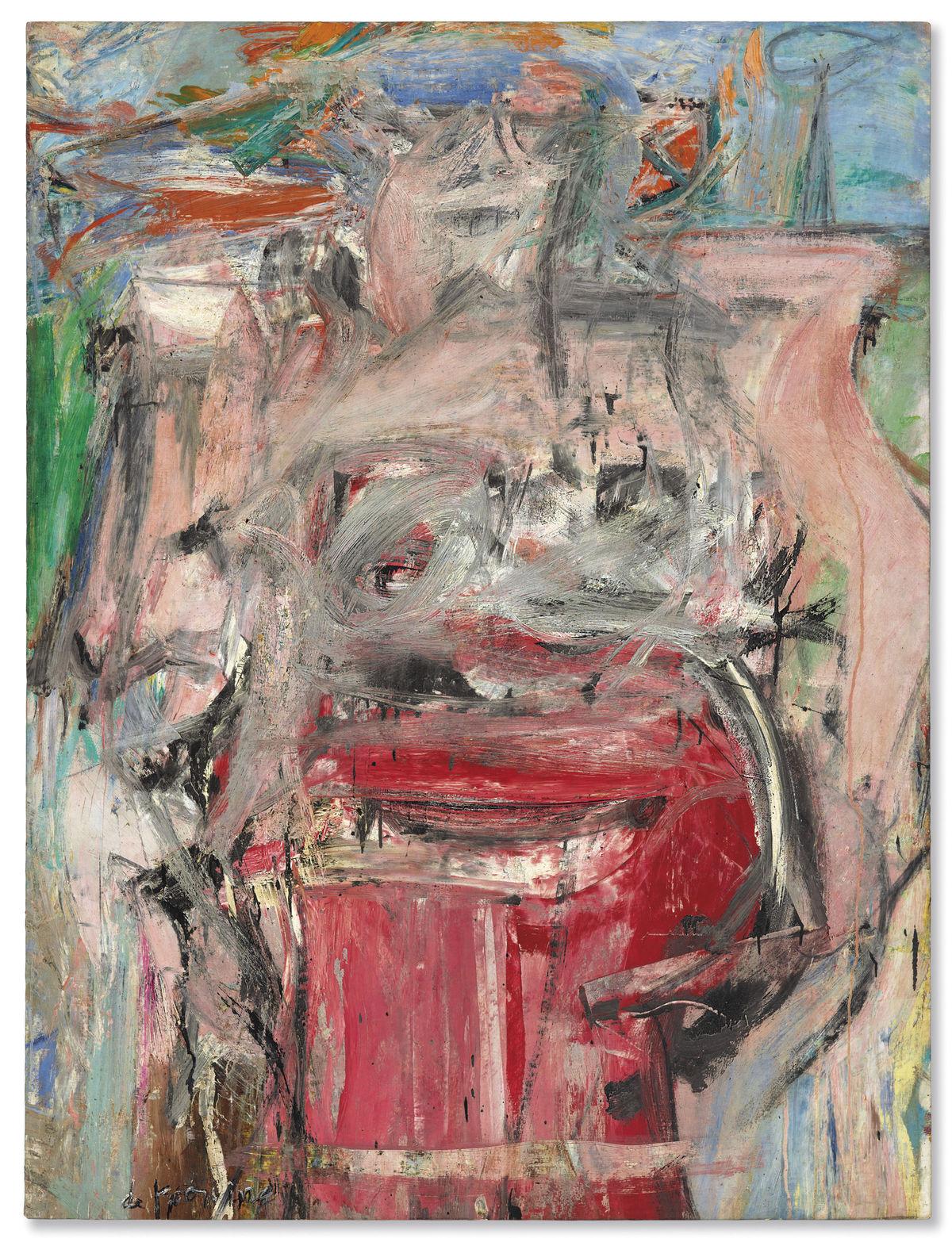 """Виллем де Кунинг (Willem de Kooning), """"Женщина как пейзаж"""" (Woman as Landscape)"""