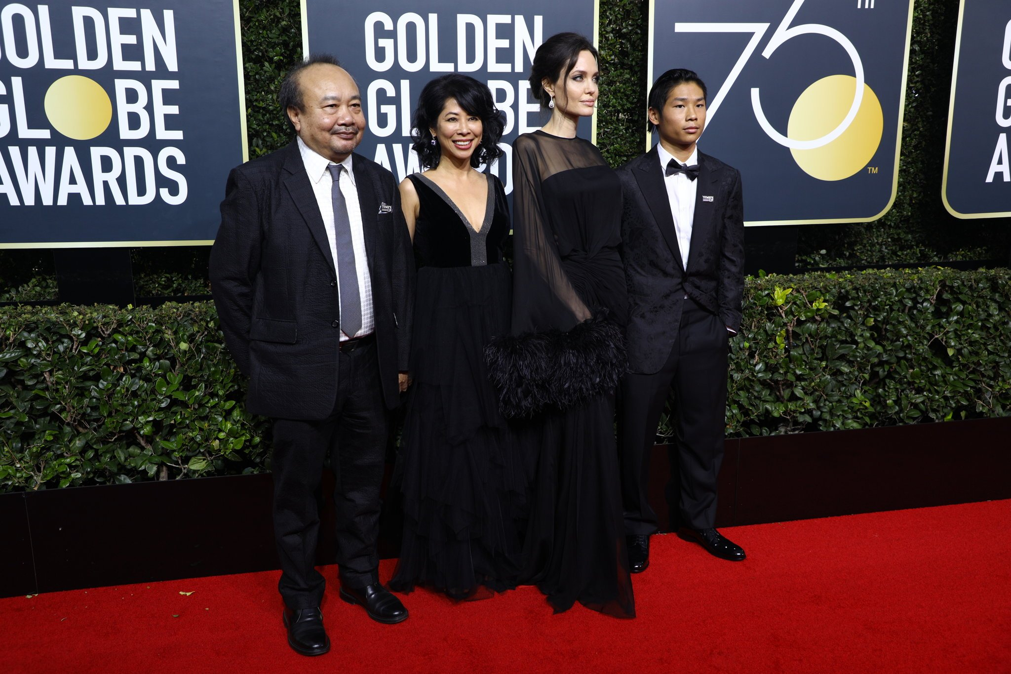 Golden Globe 2018 Red Carpet