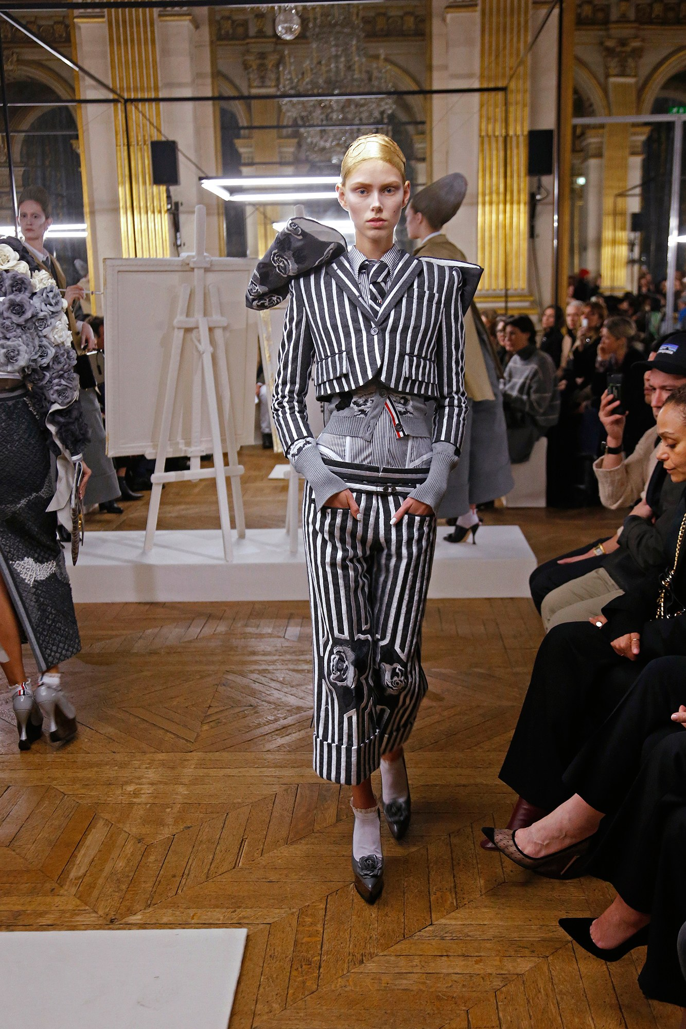 Показ Thom Browne коллекции ready-to-wear сезона осень 2018